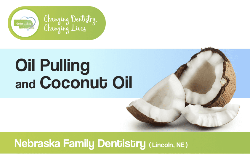 oil pulling coconut oil banner in lincoln ne
