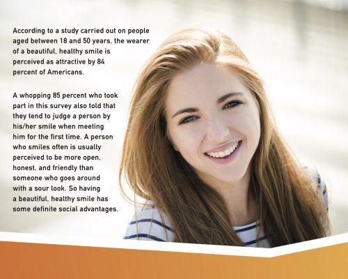 2 teens smile