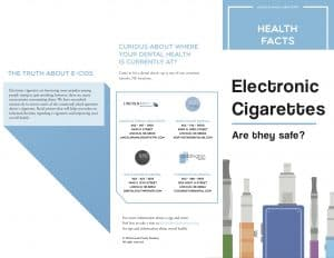 electronic cigarettes brochure