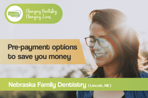 pre payment options to save you money