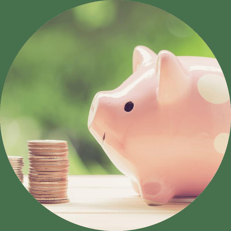 affordable dentistry piggy bank