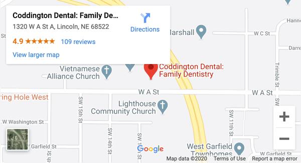 CODD map